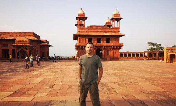 D.Barkausko nuotr./Fatehpur Sikri, Agaros miestas, Indija