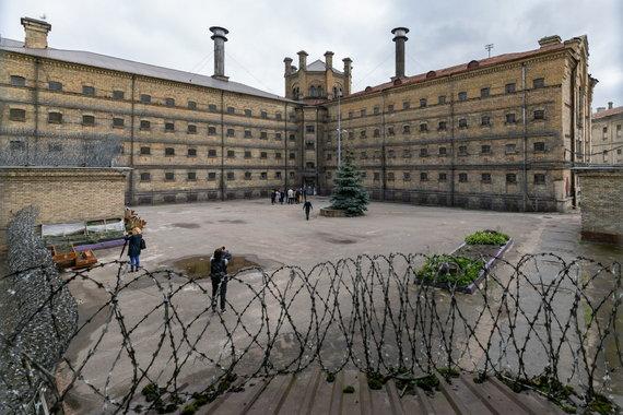Sauliaus Žiūros nuotr./Buvęs Lukiškių kalėjimas