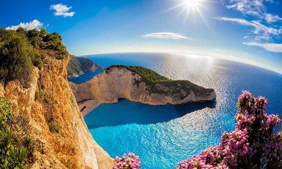 Shutterstock.com nuotr./Graikija, Navagio paplūdimys