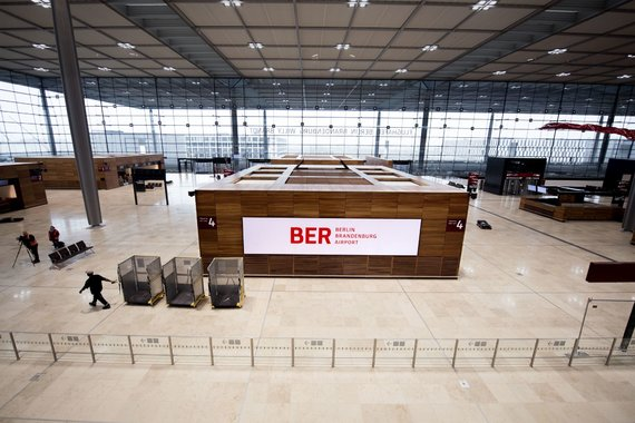 """Scanpix""/""SIPA"" nuotr./Berlyno Brandenburgo oro uostas (BER)"