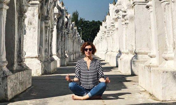 Asm.archyvo nuotr./Astra Petkūnaitė Mianmaro šventykloje