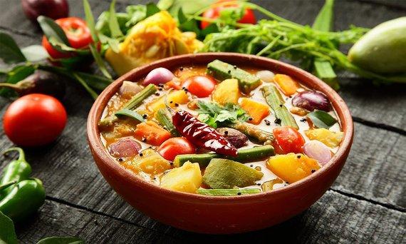 Shutterstock.com nuotr./Šri lankietiškas maistas