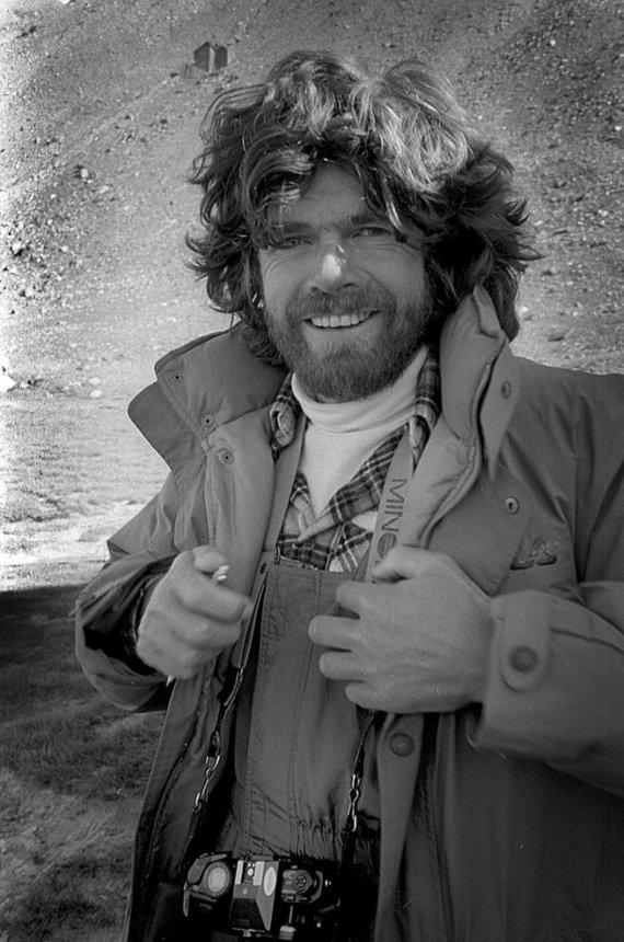 """""""Wikimedia Commons"""" nuotr./Reinholdas Messneris 1985 m."""