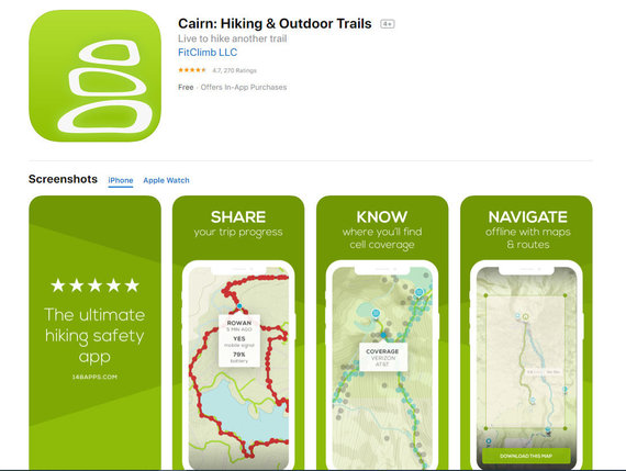 Hiking and outdoors Trails