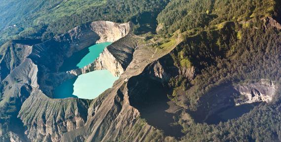 Shutterstock.com nuotr./Kelimutu ežeras