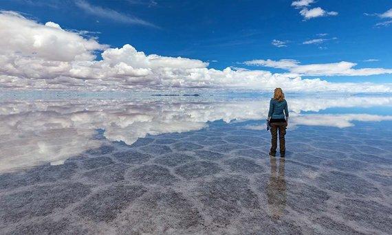 Shutterstock.com nuotr./Bolivija, Ujūnio druskožemis