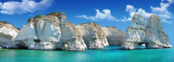 123rf.com nuotr./Kleftiko paplūdimys Milo saloje Graikijoje