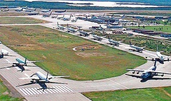 Ganderio oro uosto nuotr./Ganderio oro uostas po Rugsėjo 11