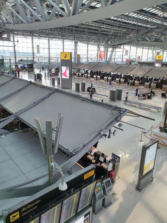 D.Pankevičiaus nuotr./Bankoko oro uostas