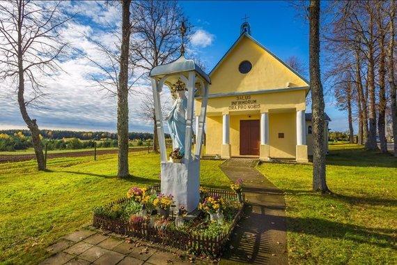 Trakų turizmo informacijos centro nuotr./Gojaus Dievo Motinos Ligonių Sveikatos koplyčia