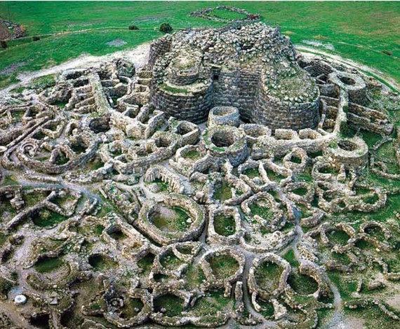 Barumini archeologinis kompleksas. Sardegna Turismo nuotr.