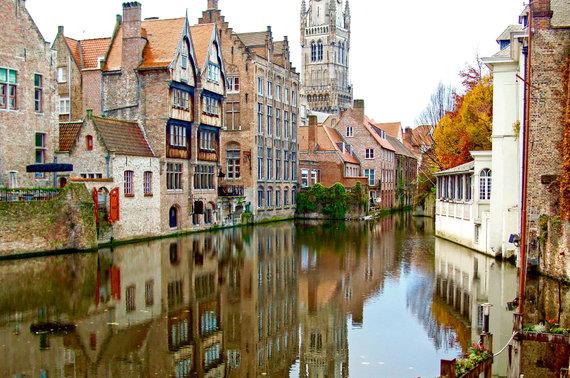 123rf.com nuotr./Briugė, Belgija