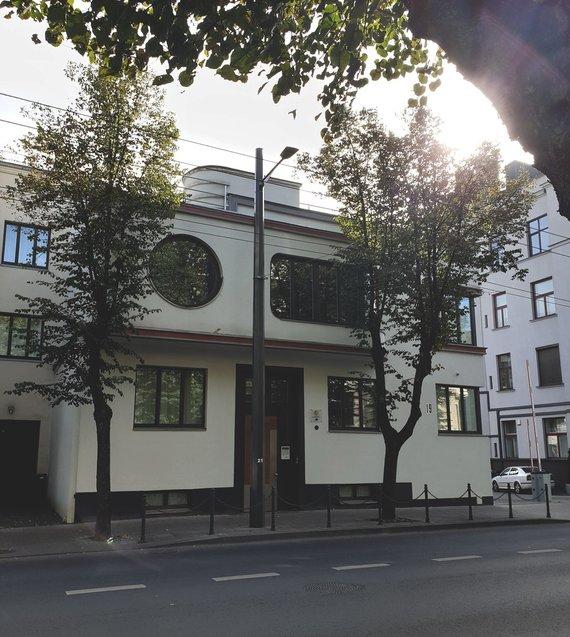 Lauros Žičkutės nuotr./J. ir A. Iljinų namas