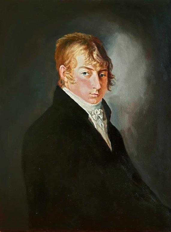 Kopijos autorius Linas Grybė/Teodoro von der Roppo portreto kopija