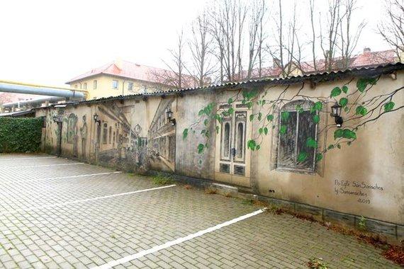 """Egidijaus Jankausko/ve.lt nuotr./""""Uostamiesčio freskos"""" (Danės g. 43)"""