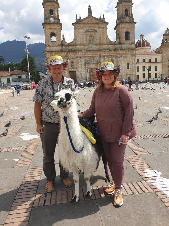 R.Pogorelio nuotr./Roberto ir Sigitos kelionė į Kolumbiją