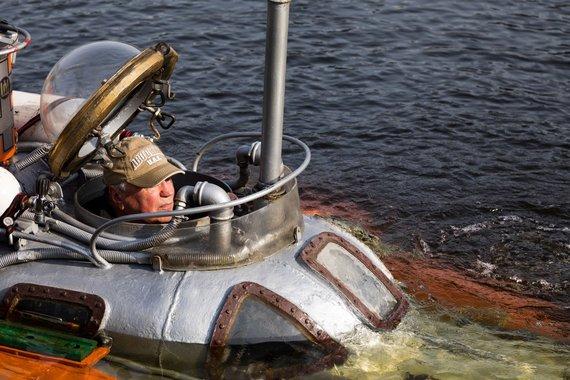 """Alfonso Mažūno nuotr./Povandeninis laivas """"Lituanika – 01"""""""