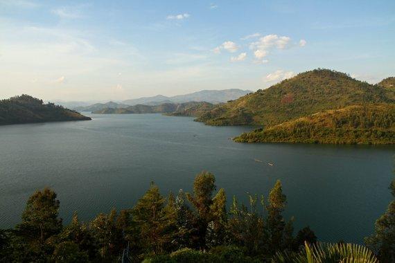123rf.com nuotr./Kivu ežeras, Ruanda