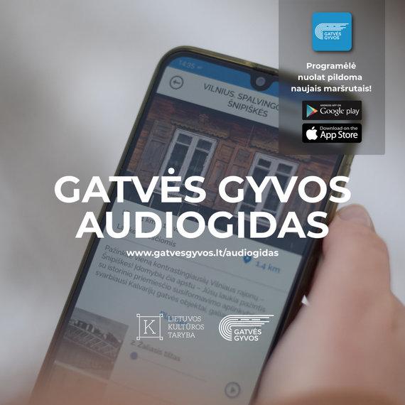 """""""Gatvės gyvos"""" nuotr./Audiogidas"""