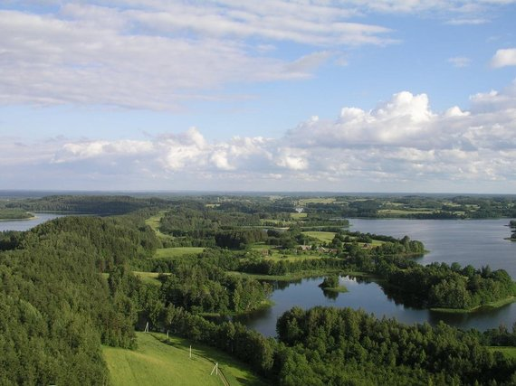 VSTT nuotr./Aukštaitijos nac. parko ežerai
