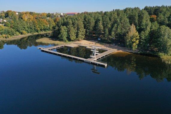 R.Kiburto nuotr./Zarasaičio ežeras