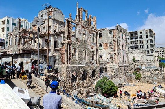 D.Pankevičiaus nuotr./Somalio sostinė Mogadišas