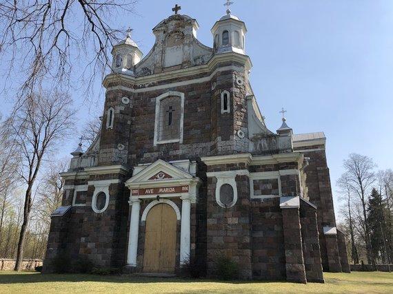 checkinlithuania.com nuotr./Gegužinės Viešpaties Apreiškimo Švč. Mergelei Marijai bažnyčia