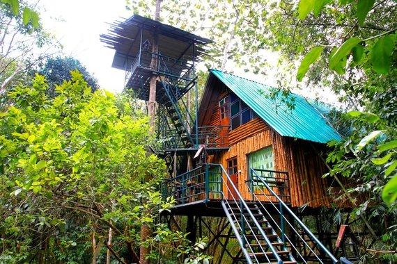Tailandieciai.lt nuotr./Khaosok namelis medyje