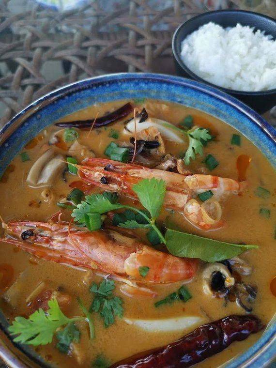 Tailandieciai.lt nuotr./Tom Yum sriuba – bene populiariausias tailandietiškas patiekalas Lietuvoje