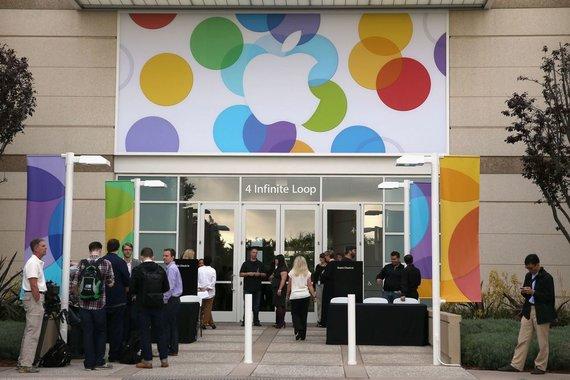 """AFP/""""Scanpix"""" nuotr./""""Apple"""" būstinė Kalifornijoje"""