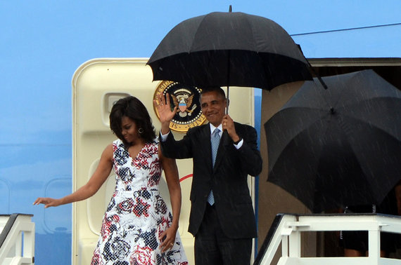"""Scanpix""/""Sipa USA"" nuotr./Baracko Obamos vizitas Kuboje"
