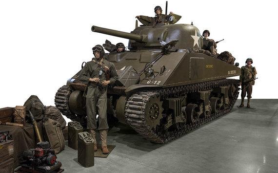 """Artcurial"" nuotr./""Chrysler M4 Sherman"""