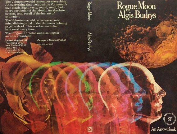 """Algio Budrio knyga """"Šelmis mėnulis"""""""