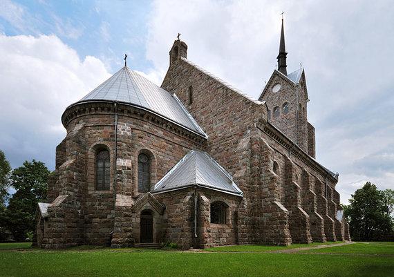 """Kontis Šatūnas/""""Wikimedia Commons"""" nuotr./Salako Švč. Mergelės Marijos Sopulingosios bažnyčia"""