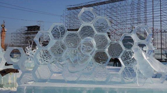 icelv.lv nuotr./Tarptautinis ledo skulptūrų festivalis