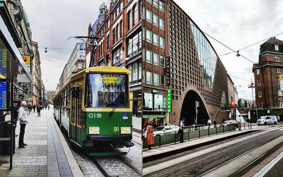 Asm.archyvo nuotr./Viešasis transportas Helsinkyje