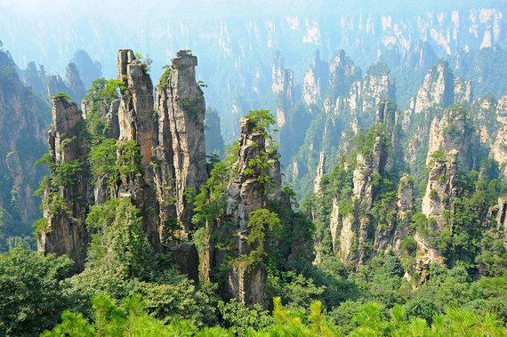 Shutterstock.com nuotr./Zhangjiajie nacionalinis parkas