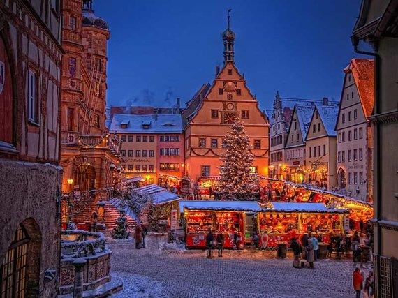 """""""Bavaria tourism"""" nuotr./Kalėdos Tauberio Rotenburge"""