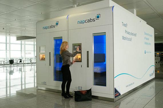 """Napcab.com nuotr./Miego kabinos """"Napcab"""""""