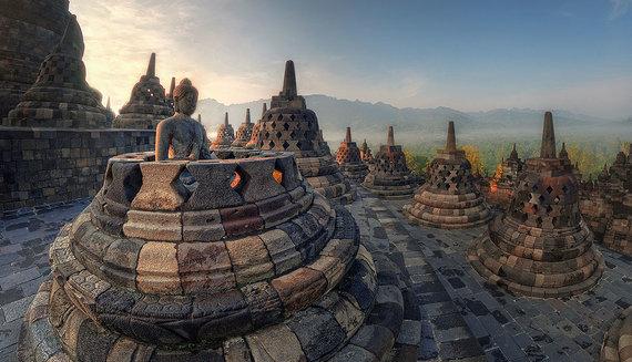Shutterstock.com nuotr./Borobudūras