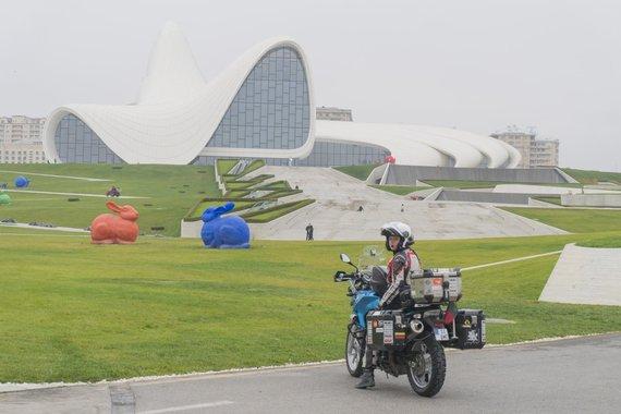 Asm.archyvo nuotr./Baku, Azerbaidžanas