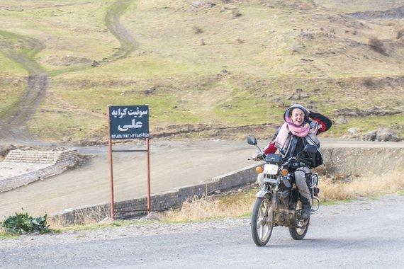 Asm.archyvo nuotr./Iranietiškas motociklas