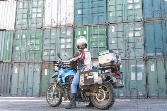 Asm.archyvo nuotr./Motociklų logistika, Iranas