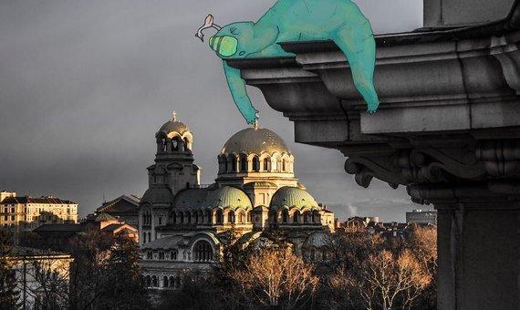 """Nuotr. iš asm.archyvo/Projektas """"Sofia Monsters"""" – Atanaso nuotraukos ir jo bičiulės iliustracijos"""