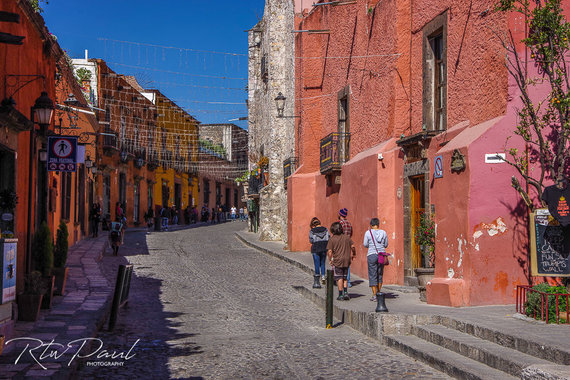 Paul Stewart nuotr./San Miguel De Allende miestelis