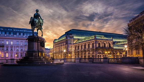 Shutterstock.com nuotr./Vienos opera, Austrija