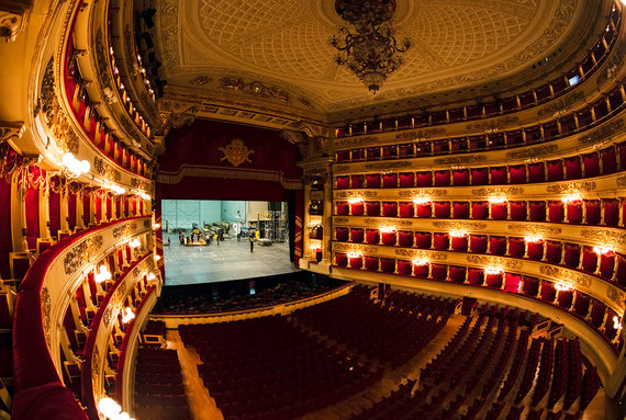 Shutterstock.com nuotr./La Scala operos teatras, Italija