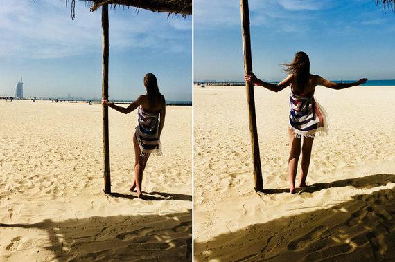 Skrendu.lt nuotr./S. Valiaugaitė, Džumeiros paplūdimys