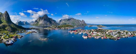 123rf.com nuotr./Lofoteno salos