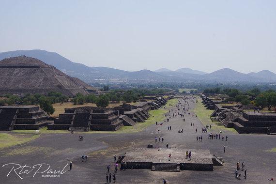 Paul Stewart nuotr./Piramidės Meksikoje